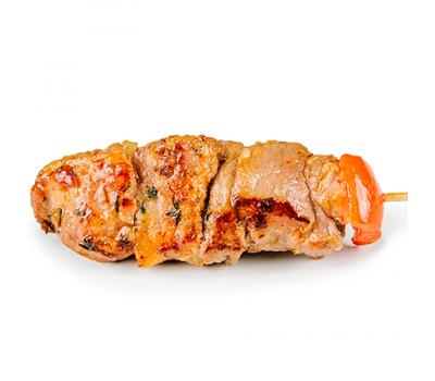 Мини-шашлычок из свинины