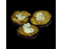 Тартинка из баклажан