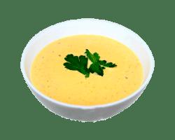 Суп- пюре сырный