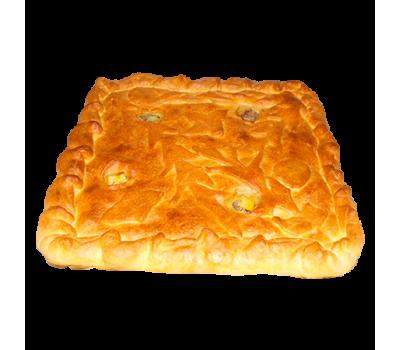 Пирог мясной (смешаный фарш)