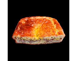 Пирог рыбный (филе минтая, горбуша, судак)