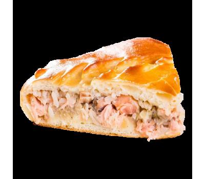 Пирог рыбный (горбуша)