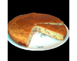 Пирог с мясом и картофелем (фарш)