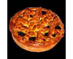 Пирог сдобный (курага или чернослив)