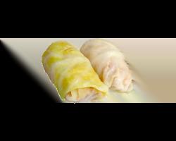 Голубцы овощные постные /лук, морковь, рис/