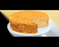 Торт «Наполеон» (слоеные коржи, масляный крем)