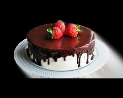 Торт «Птичье молоко» (песочно-бисквитные корж, суфле)