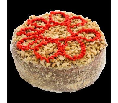 Торт  «Романтика» (мед. коржи, сливки, грец. орех,чернослив)