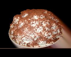 Торт «Сюрприз» (бизейная крошка, сгущ. молоко)