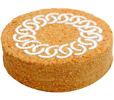 Торт «Сказка» (медовые коржи, заварной крем)